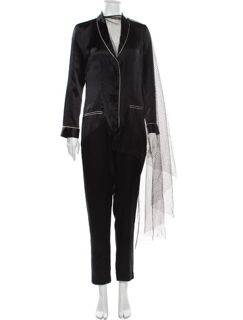 Imitation of Christ Silk Jumpsuit Black