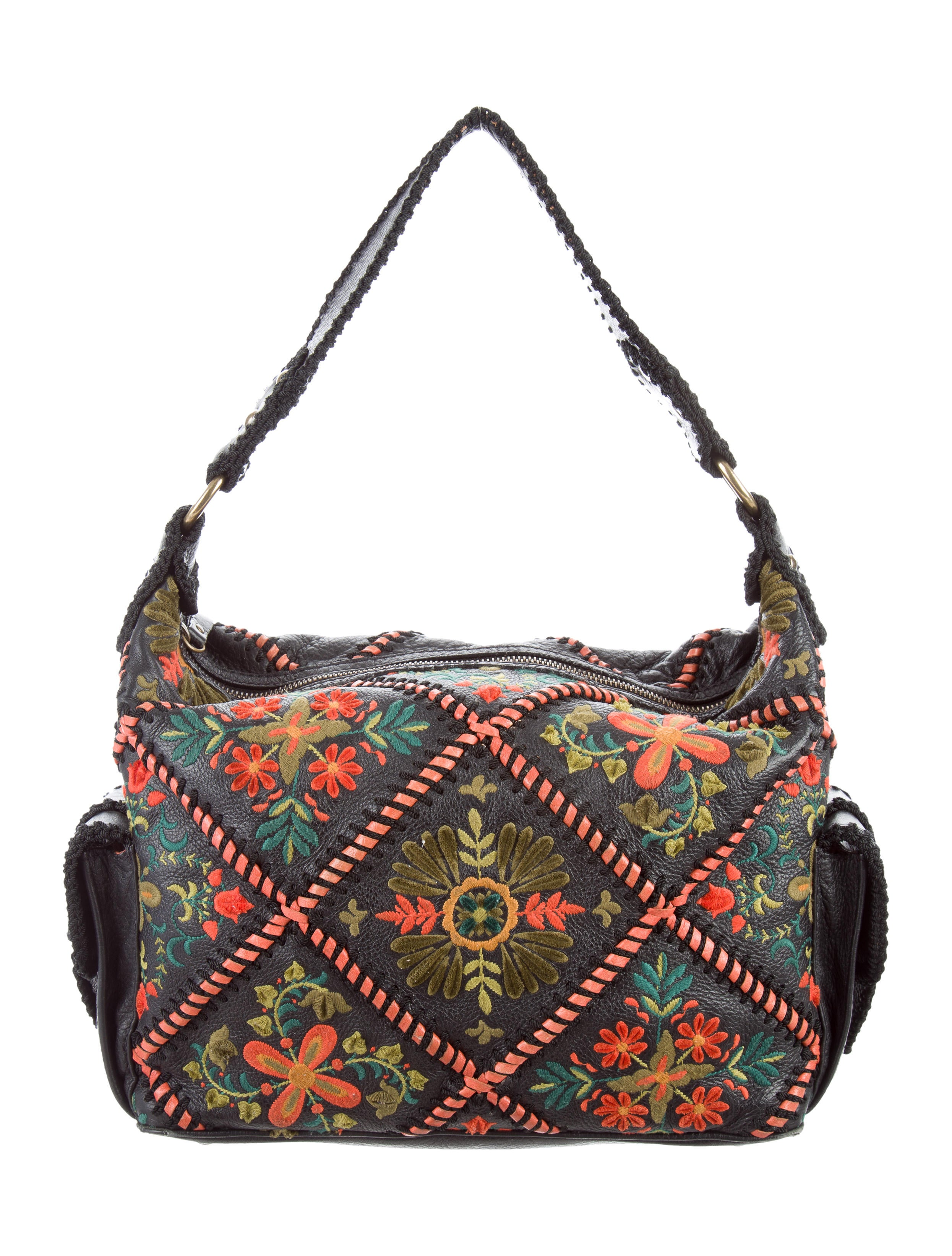 Isabella Fiore Embroidered Shoulder Bag - Handbags - WIF20042 | The RealReal