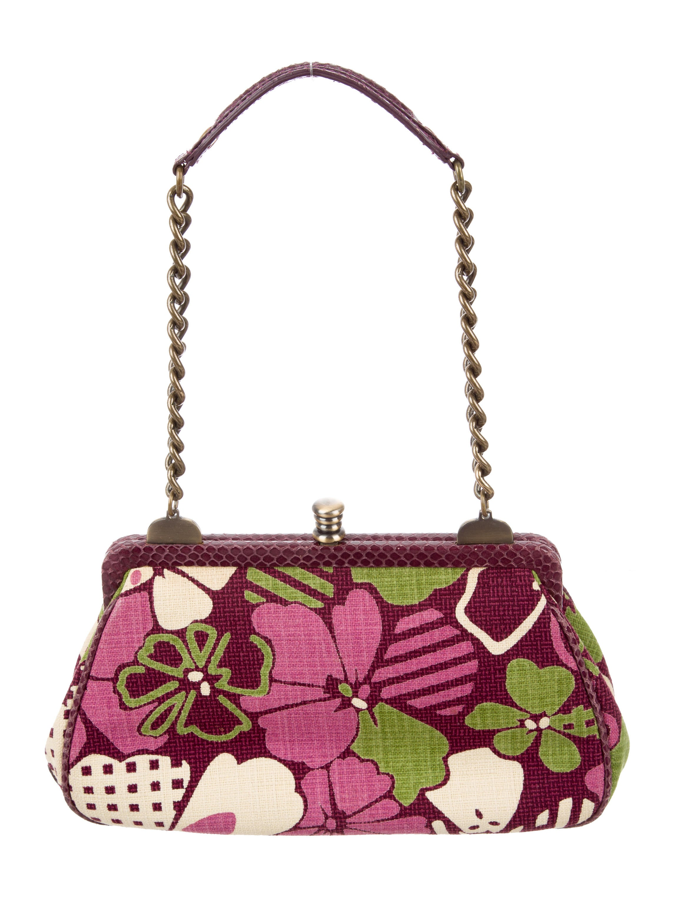 Isabella Fiore Bead-Embellished Woven Bag