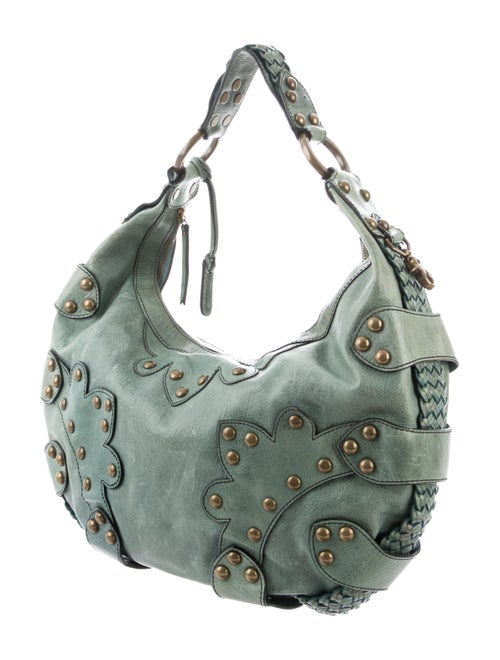 900bfe6fcd Isabella Fiore Oasis Studded Distressed Bag - Handbags - WIF20225 ...