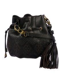 c1a71f1b6b Isabella Fiore. Leather Bucket Bag