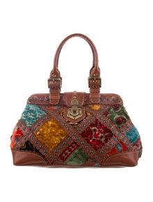 e4ece9beb2 Isabella Fiore. Embroidered Doctor Bag
