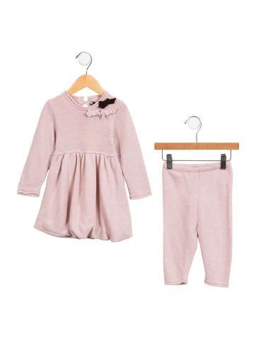 i Gianburrasca Girls' Knit Two-Piece Pant Set w/ Tags None