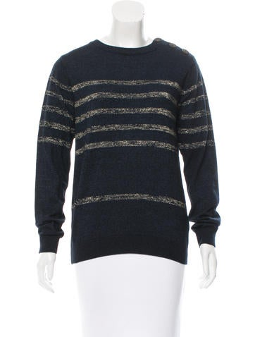 MiH Striped Knit Sweater w/ Tags None