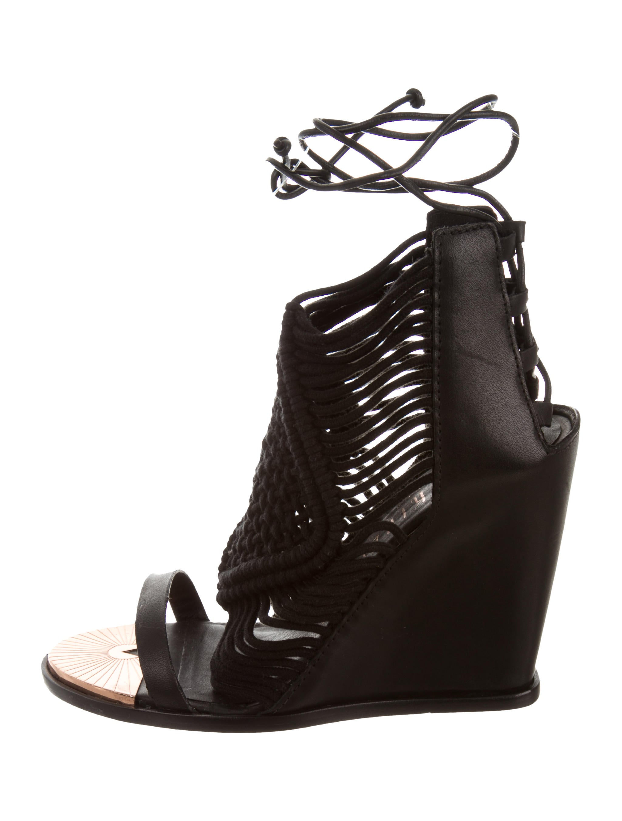 Ivy Kirzhner Mykono Wedge Sandals w/ Tags pictures with credit card cheap price 2014 newest cheap price fAQFuIquE