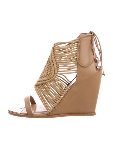 Ivy Kirzhner Mykonos Crochet Wedges free shipping 2015 new cheap sale deals real sale online explore for sale many kinds of cheap online UjjfrB8