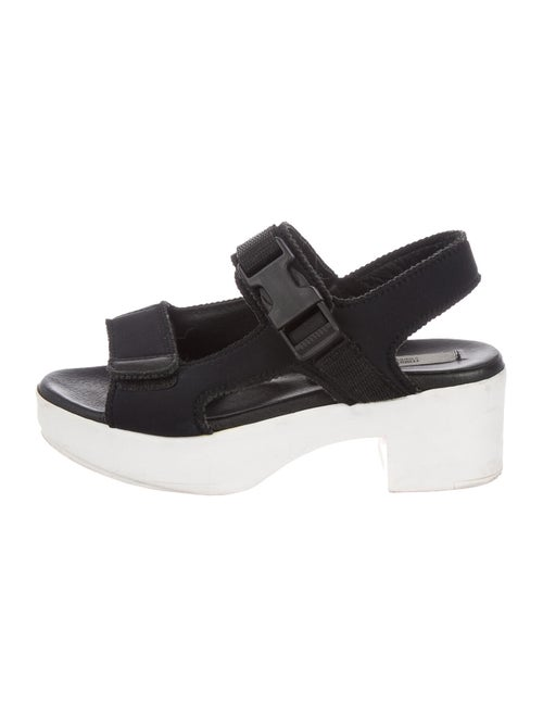 Miista Slingback Sandals Black