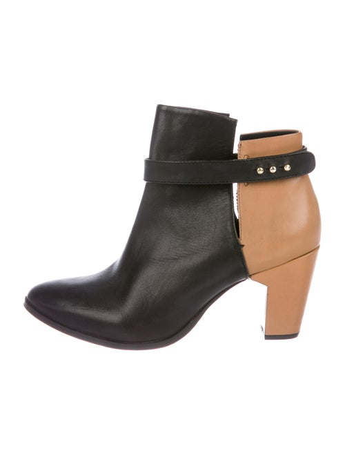 Miista Leather Boots Brown
