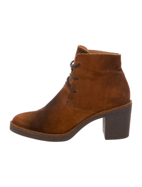 Miista Suede Boots Brown