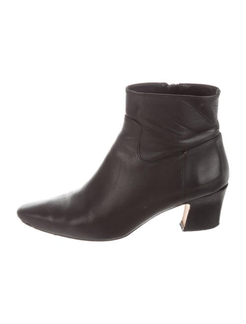 Miista Leather Boots Black