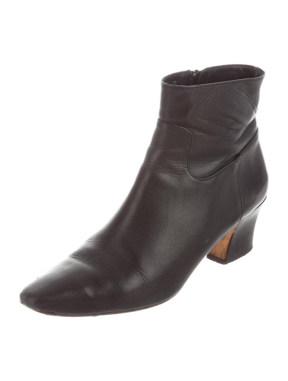 Miista Leather Boots Black - image 2