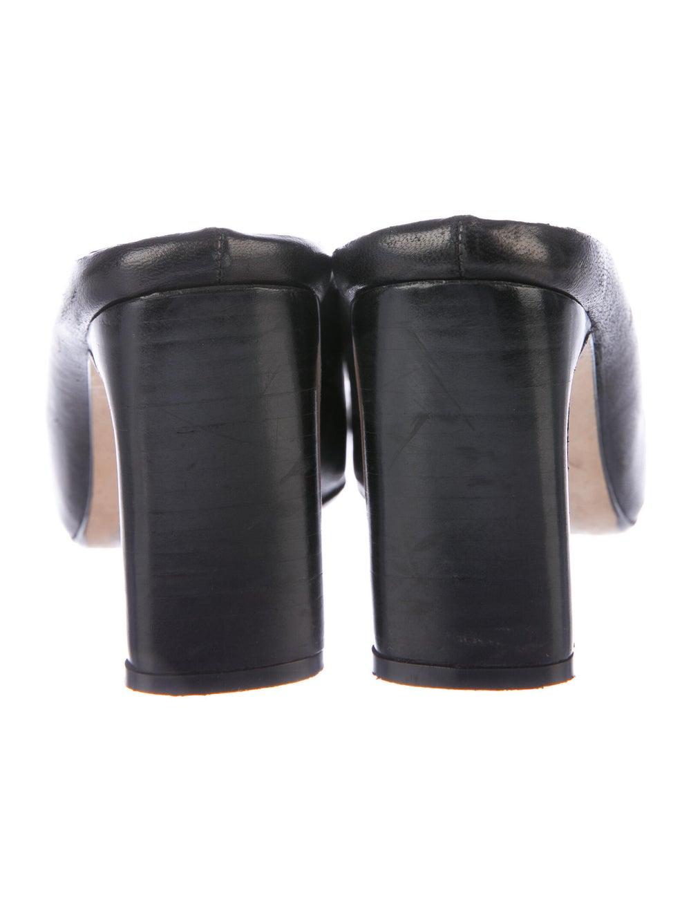 Miista Leather Mules Black - image 4
