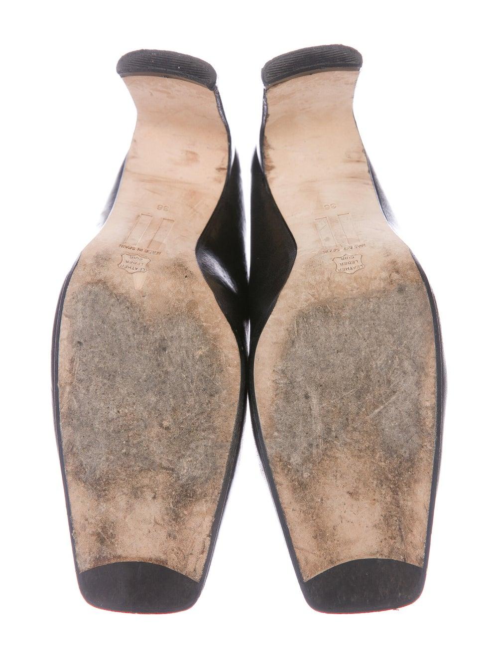 Miista Leather Mules Black - image 5