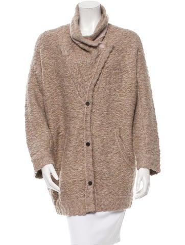 Inhabit Oversize Wool-Blend Cardigan w/ Tags None