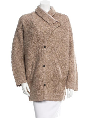 Inhabit Oversize Wool-Blend Cardigan w/ Tags None