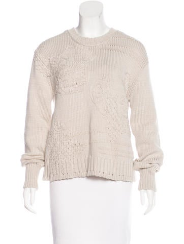 Inhabit Long Sleeve Knit Sweater None