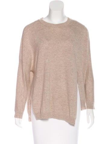 Inhabit Cashmere Asymmetrical Sweater None