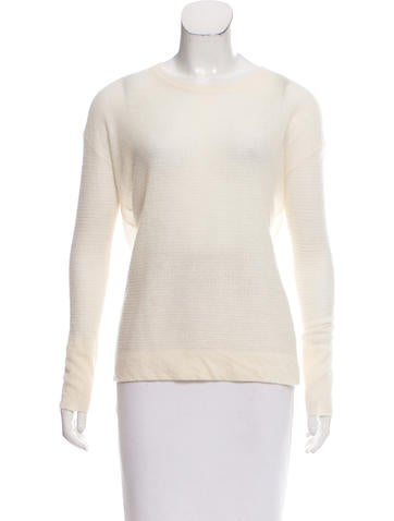Inhabit Semi-Sheer Cashmere Sweater w/ Tags None