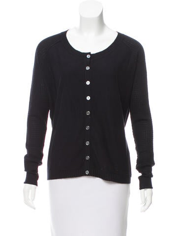 Inhabit Rib Knit Button-Up Cardigan w/ Tags None