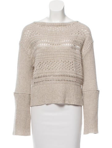 Inhabit Crocheted Cashmere Sweater w/ Tags None