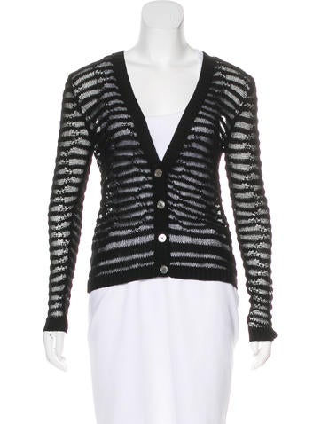 Inhabit Sheer Knit Cardigan None