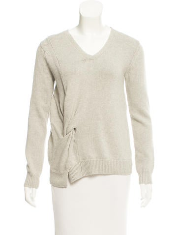 Inhabit V-Neck Pullover Sweater w/ Tags None