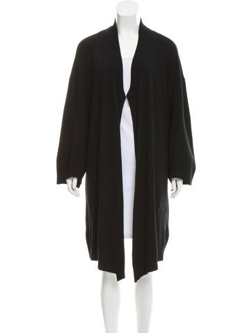 Inhabit Long Cashmere Cardigan None