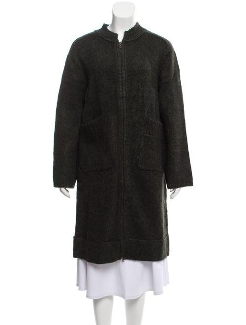 Inhabit Coat Green