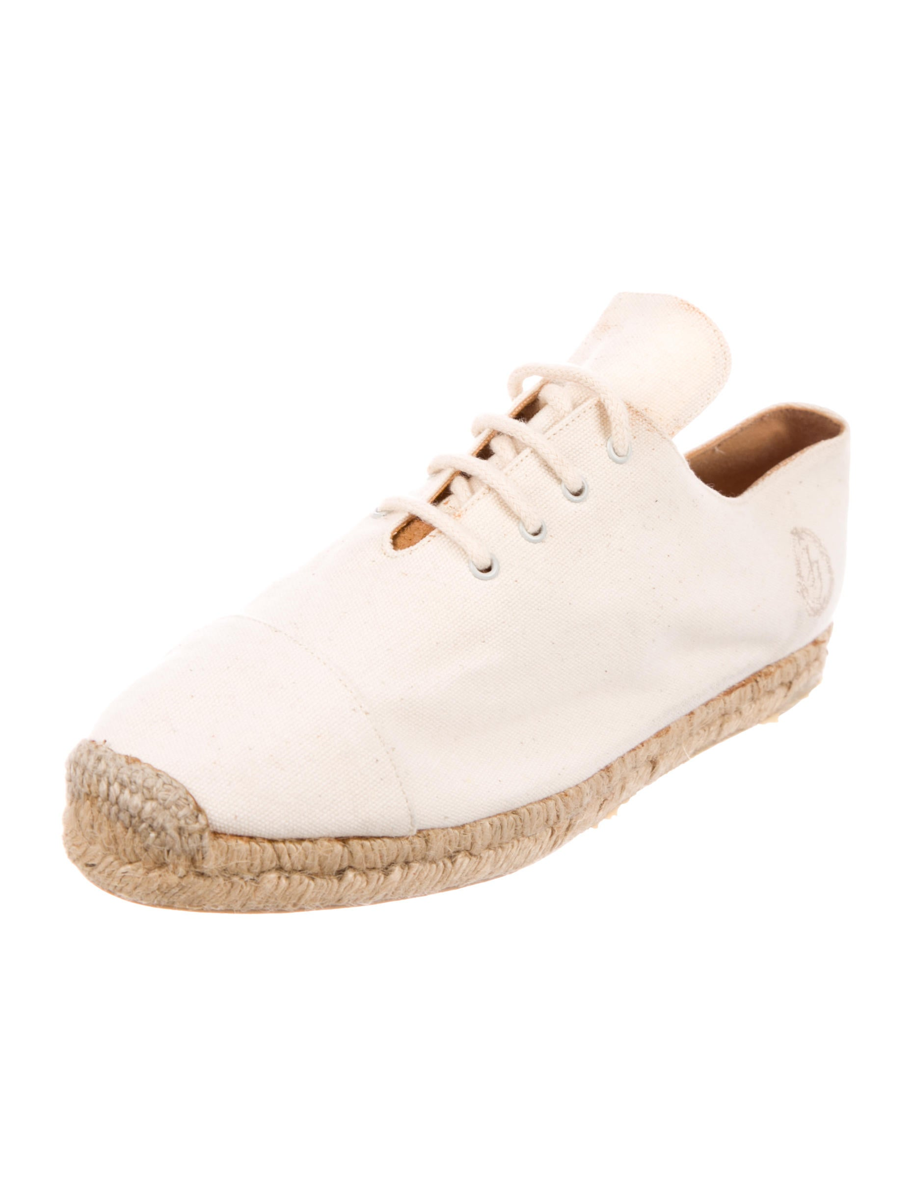 free shipping eastbay the cheapest for sale Ines de la Fressange Canvas Round-Toe Espadriles PsO4Z6Q