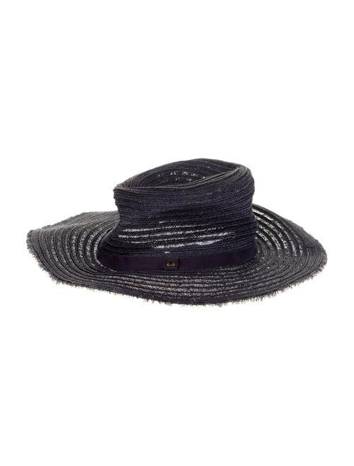 Inverni Woven Wide-Brim Hat - image 1