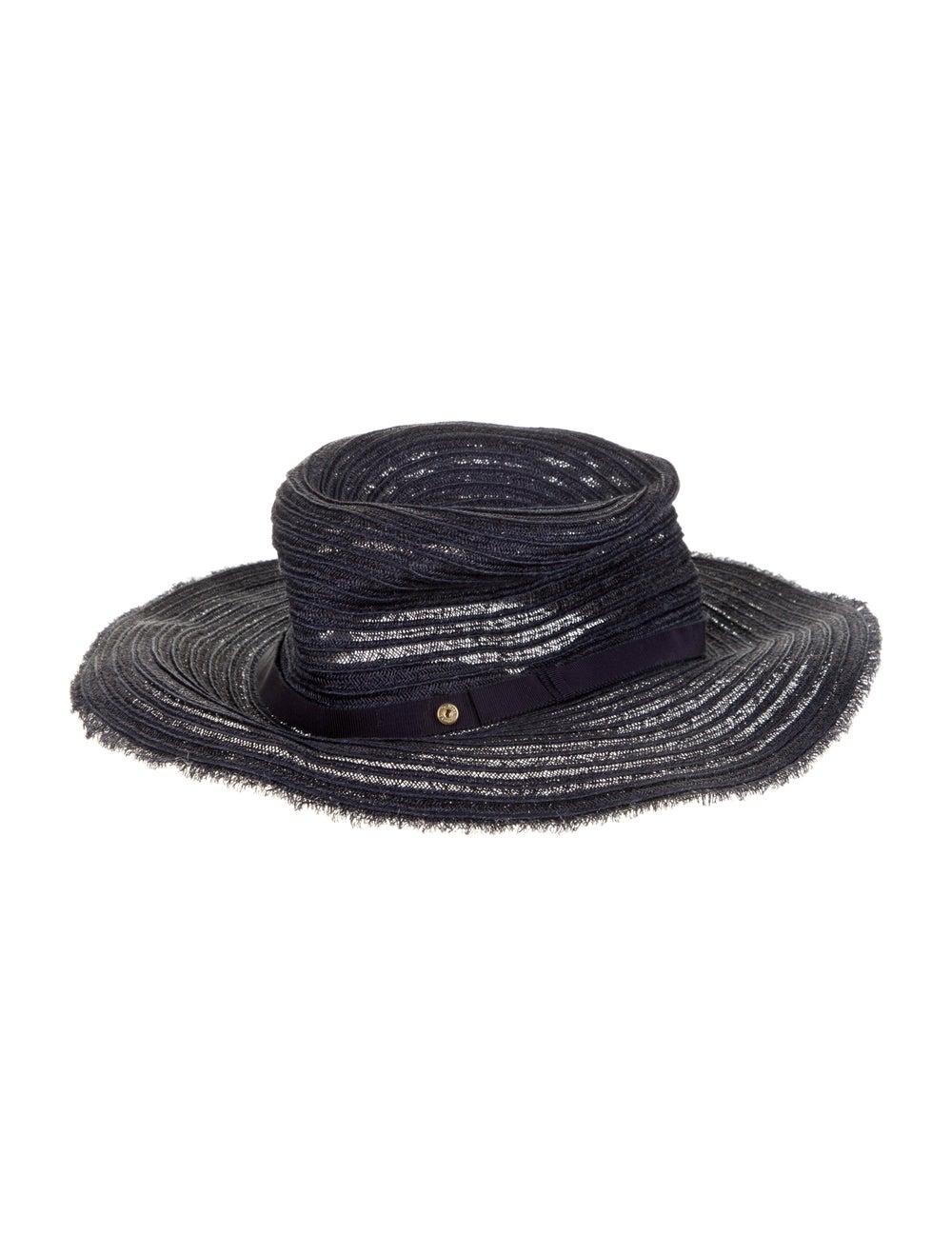 Inverni Woven Wide-Brim Hat - image 2