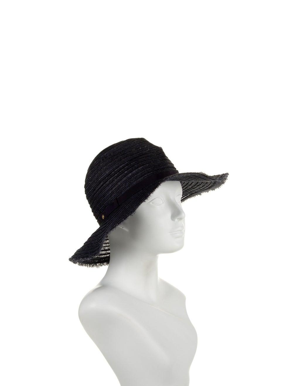 Inverni Woven Wide-Brim Hat - image 3