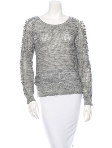 Iro Open Knit Sweater None
