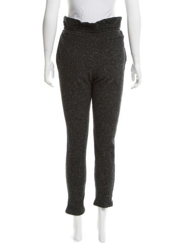 Wool-Blend Straight-Leg Sweatpants