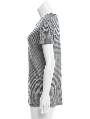 Distressed Linen T-Shirt