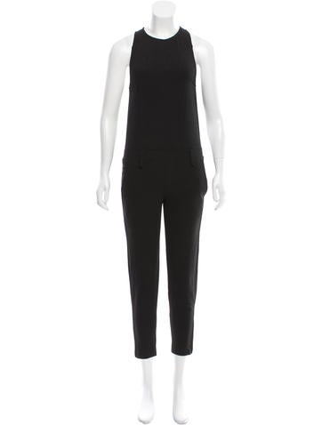 Iro Sleeveless Skinny Jumpsuit w/ Tags None