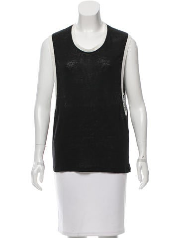 Iro Linen Sleeveless Top None