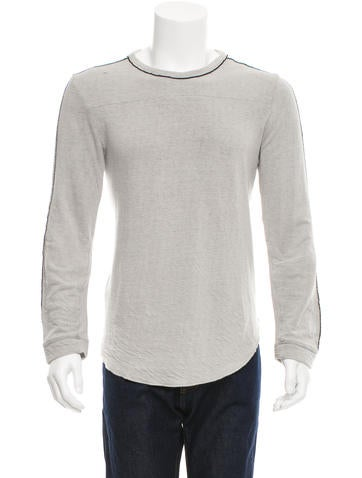 Iro Huxley Distressed Sweatshirt None