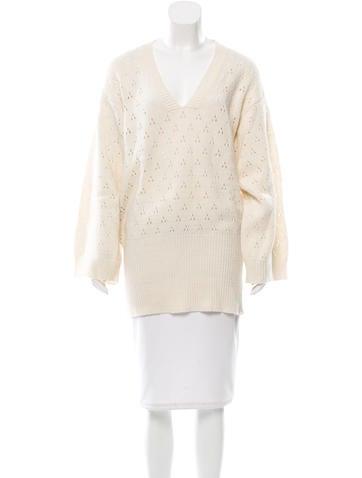 Iro Oversize Open Knit Sweater None