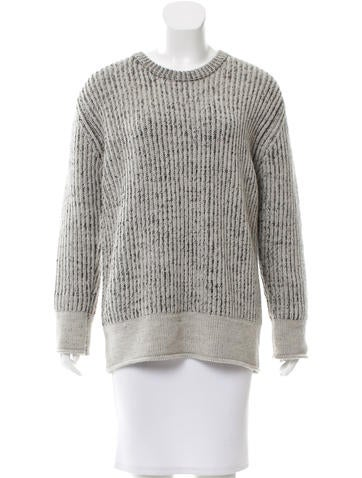 Iro Crew Neck Wool Sweater None
