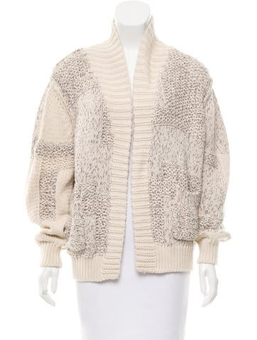 Iro Open Front Knit Cardigan None