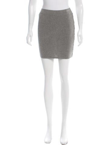 Iro Knit Mini Skirt w/ Tags None