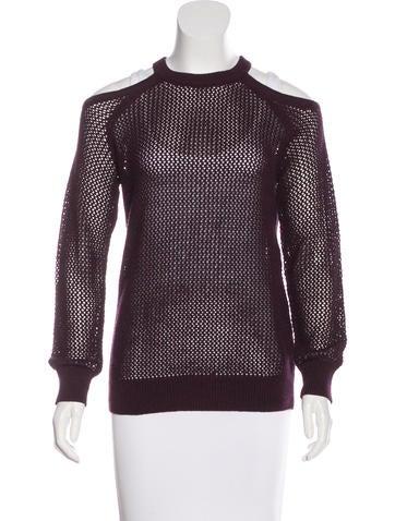 Iro Cutout Knit Sweater None