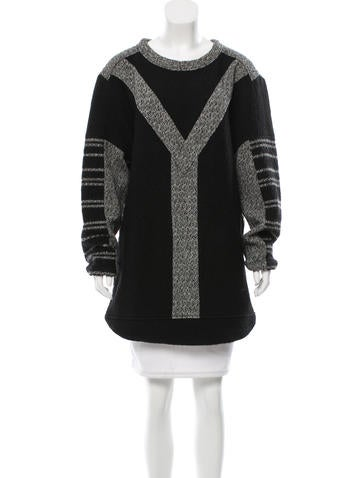 Iro Oversize Crew Neck Tunic. None