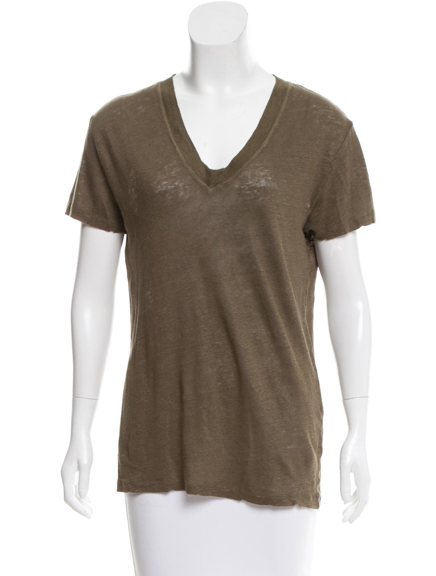 Iro short sleeve linen t shirt clothing wir30497 the for Short sleeve linen shirt