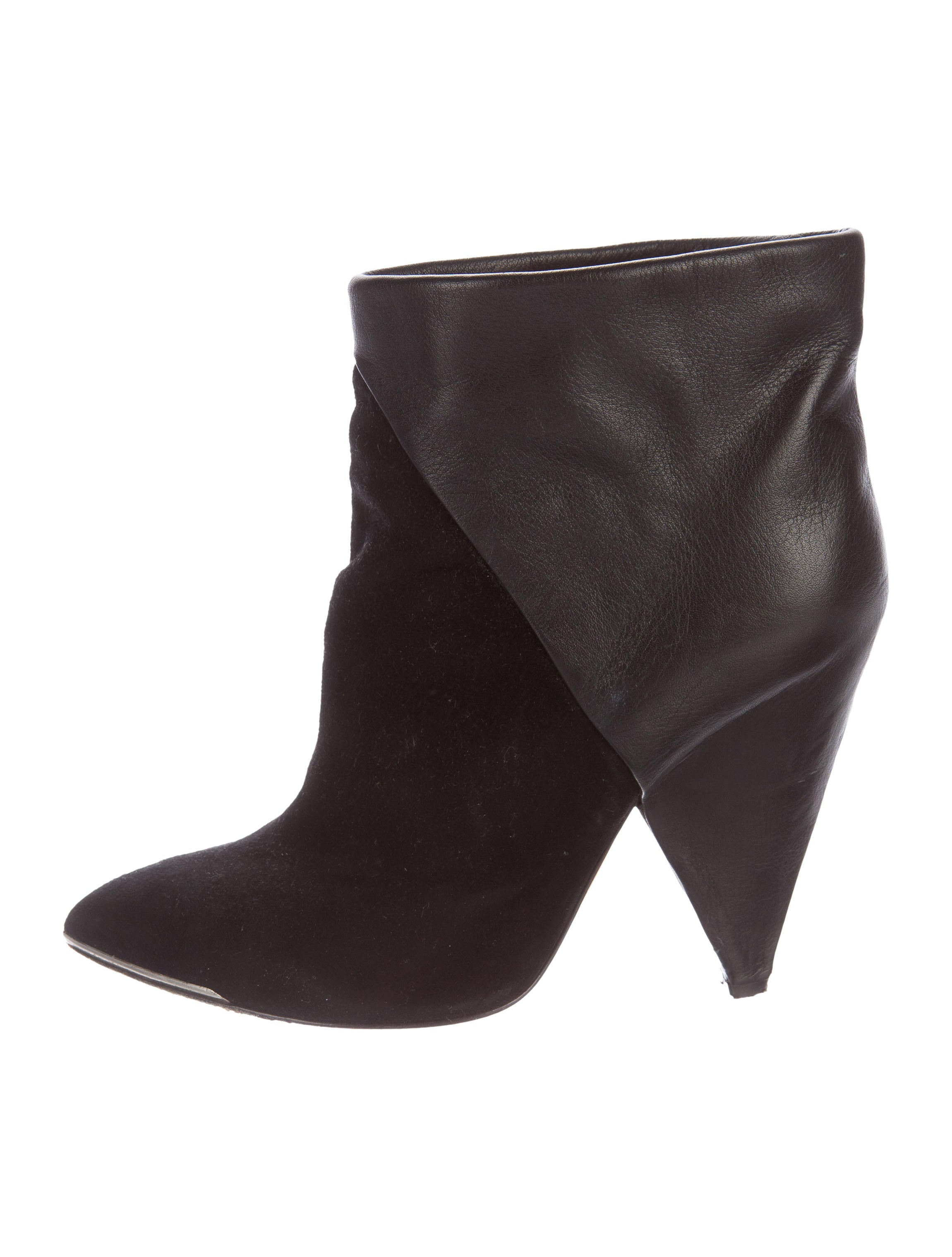 Wonderful Prada Pointed-Toe Ankle Boots - Shoes - PRA138455   The RealReal