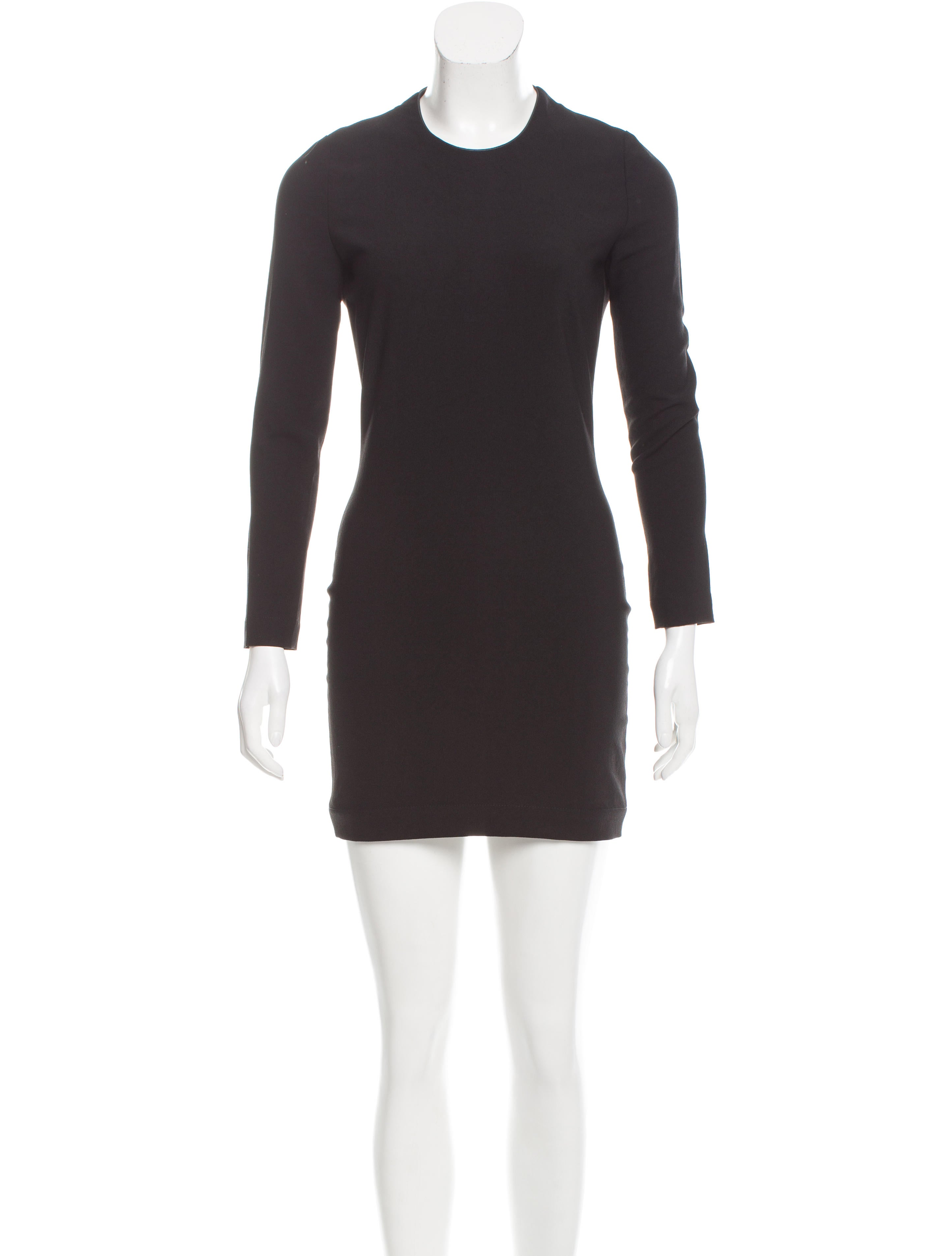 Iro Long Sleeve Mini Dress Clothing WIR30770 The  : WIR307701enlarged from www.therealreal.com size 2889 x 3812 jpeg 262kB