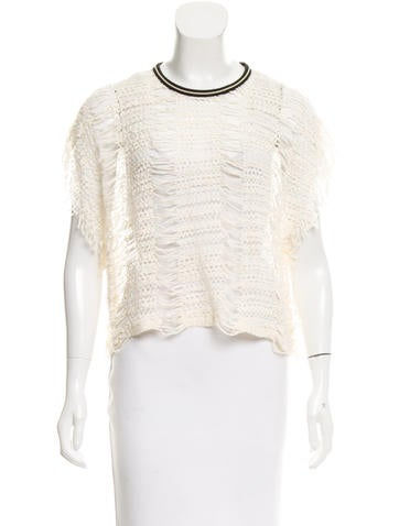 Iro Presley Fringe Top None