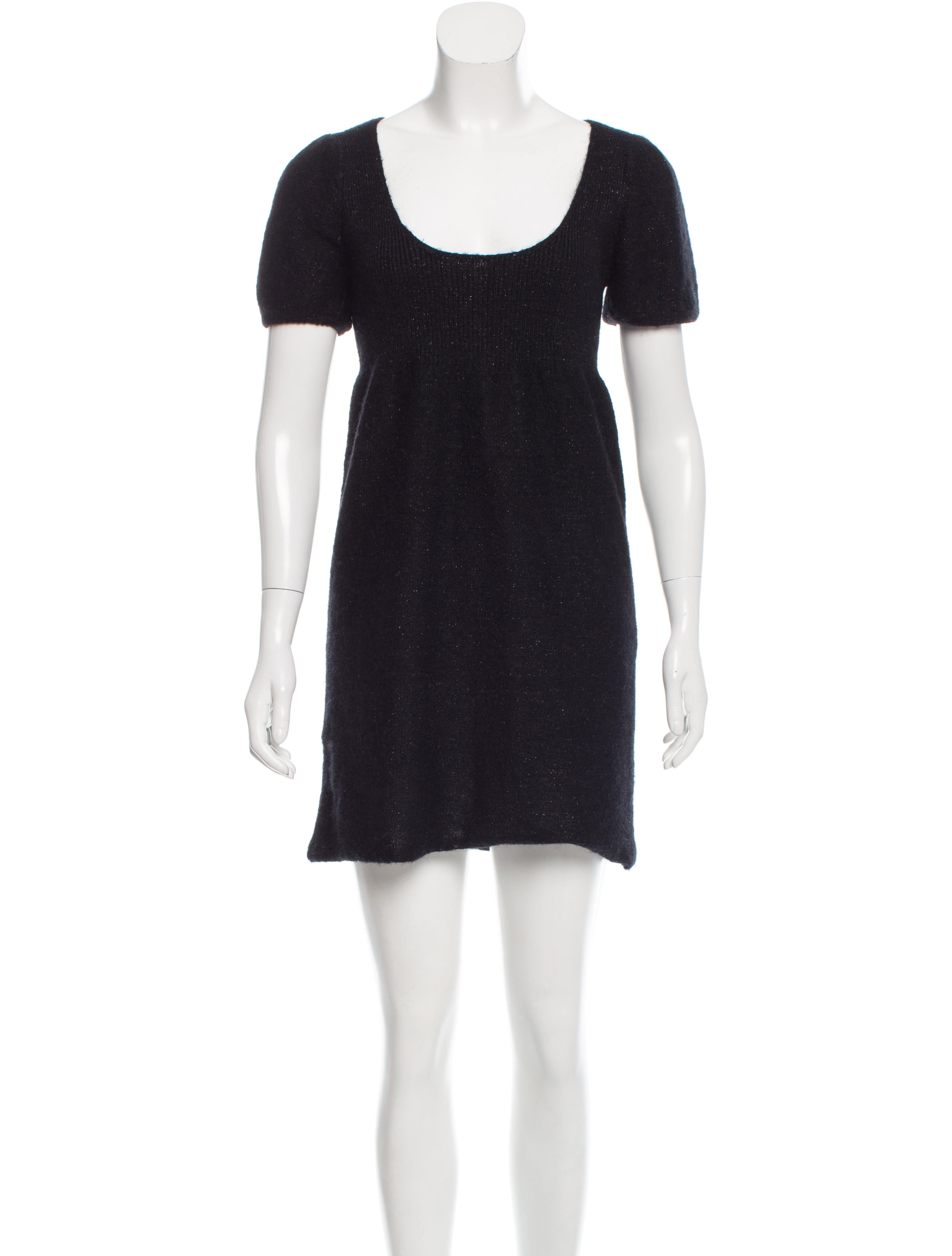 Iro Mohair-Blend Knit Dress - Clothing - WIR31991 The RealReal