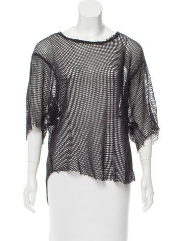 Iro Shaun Open Knit Top W Tags Clothing Wir32078 The Realreal